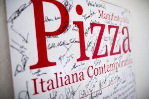 manifesto della pizza italiana contemporanea