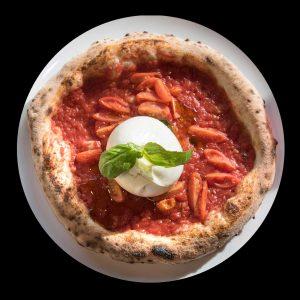 Fuori Tempo: pizza con burrata