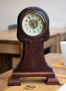 Orologio Art Nouveau, inizio Novecento