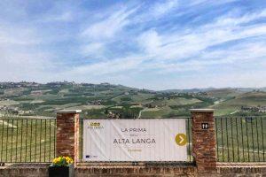La prima dell'Alta Langa 2019 - Il panorama dal Castello di Grinzane Cavour