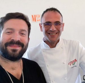 Pizza Up 2019 - Il pizza chef Davide Di Bilio con lo chef Louis Valle