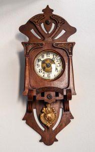 Orologio a pendolo Art Nouveau